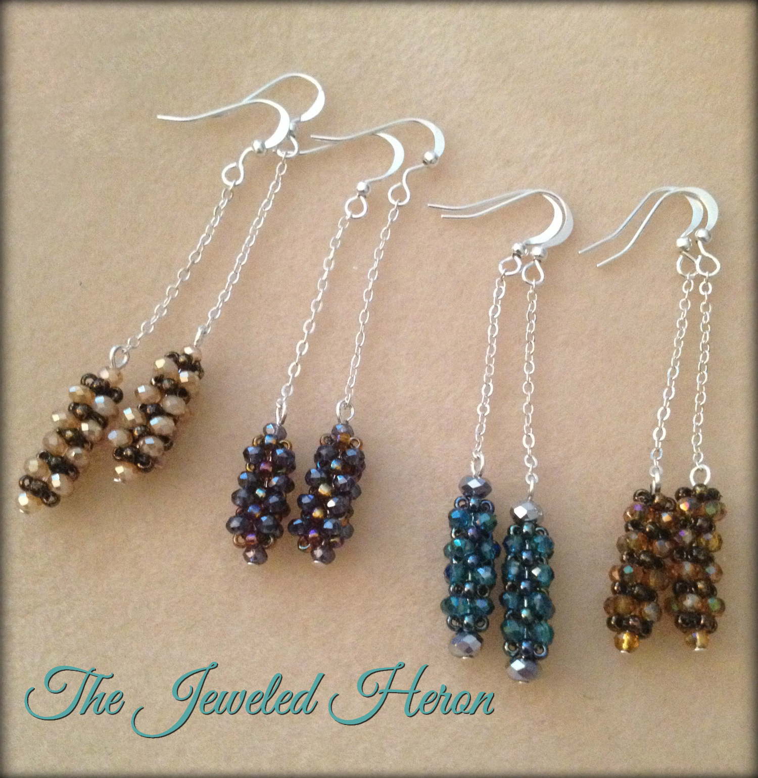 Cubic RAW Earrings 2