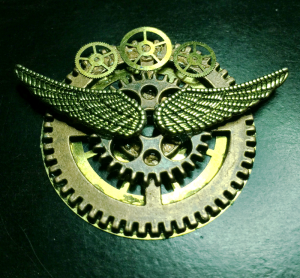 2015-09-11 Steampunk Pin